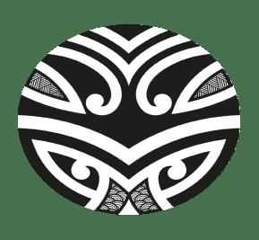 Table ronde en verre pied bronze Kono