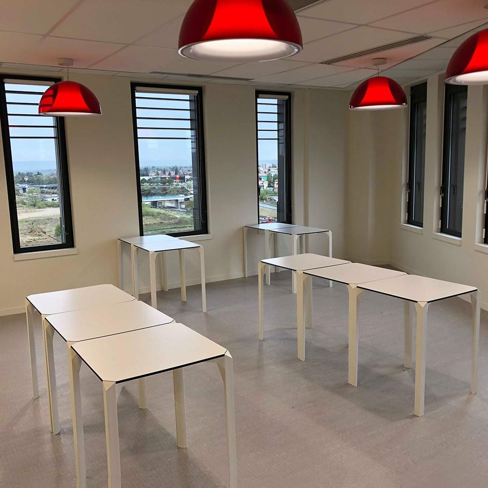 Cafétéria tables Quartz