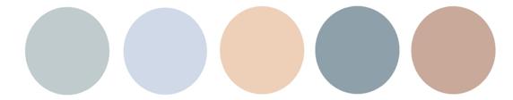 Nuancier couleurs scandinaves