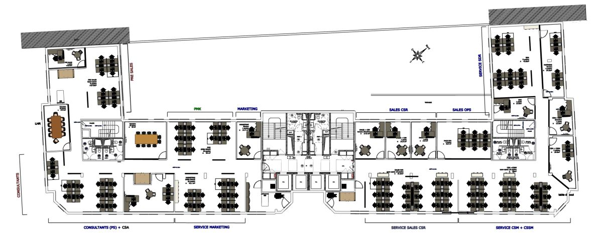 Plan d'installation Mahora Concept